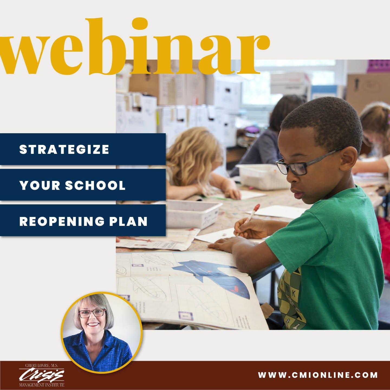 CMI Webinar Strategize Your School Reopening Plan
